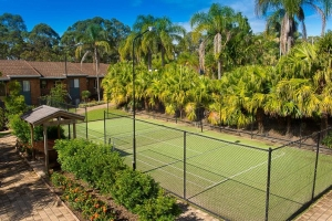 BOAMBEE BAY RESORT tennis courts